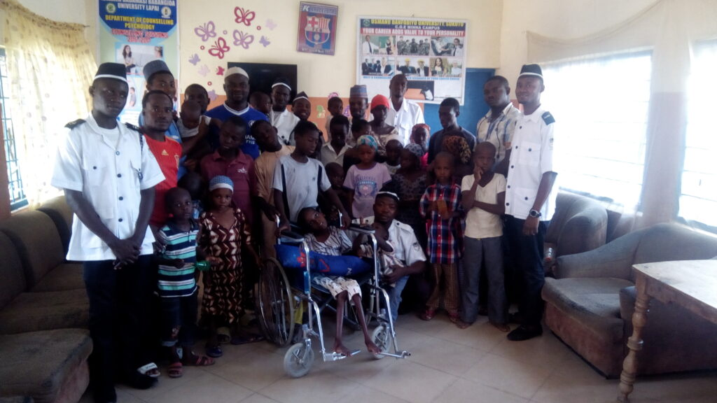 Niger State donates to Orphanage